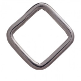Square Pull Buckle for Bridles