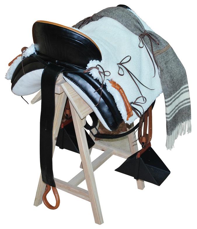 silla vaquera trasera