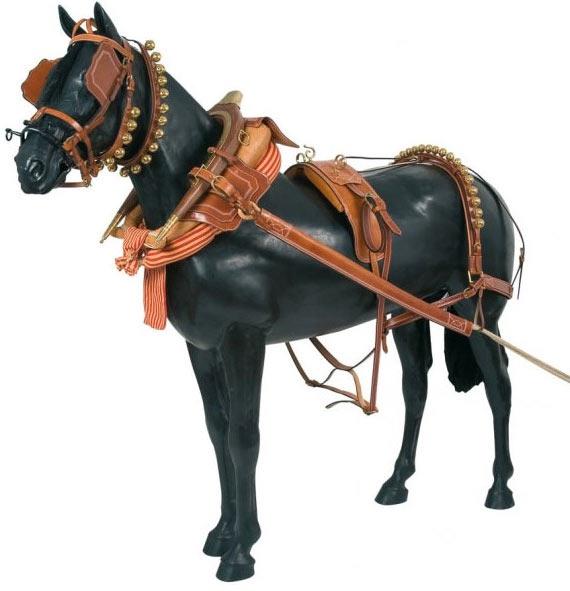 Enganches de caballos Calesero Cuero