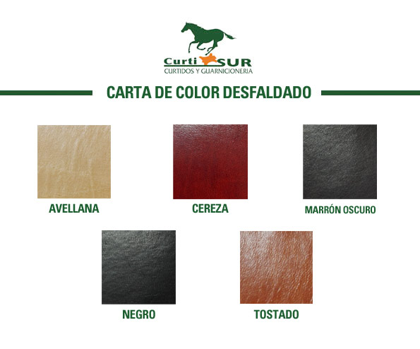 Carta color desfaldado